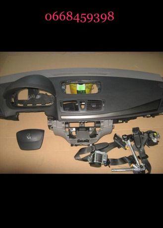 Панель безопасность комплект с ремнями Рено Мегане 3 Renault Megane 3
