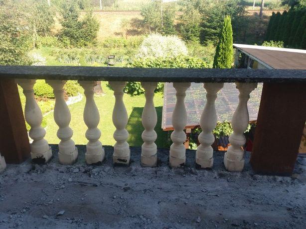Tralki betonowe balkonowe
