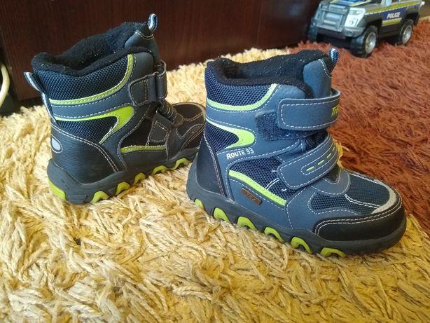 Kozaczki buty zimowe chłopięce r.24