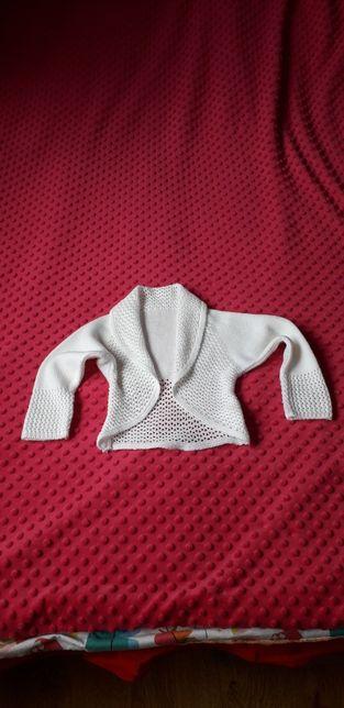 Sweterek bolero 98
