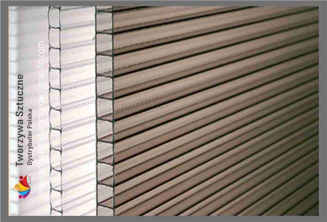 Poliwęglan komorowy Lity płyty dach taras 4,6,8,10,16,20,25,32 HPL PCW