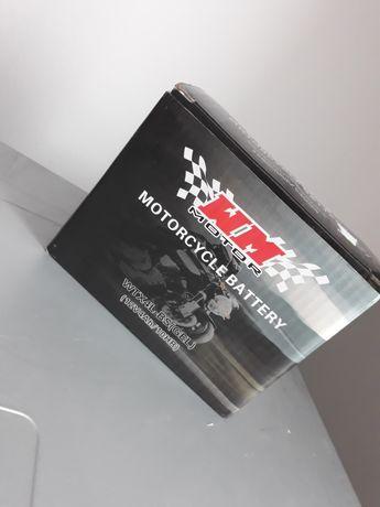 Akumulator żelowy do motocykla 12V + ładowarka 12V