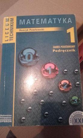 Podręcznik książka - Matematyka