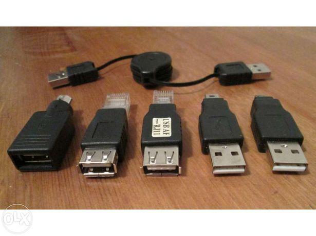 Cabo USB Universal com 5 adaptadores