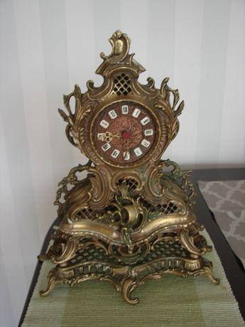 Zegar mosiężny stary