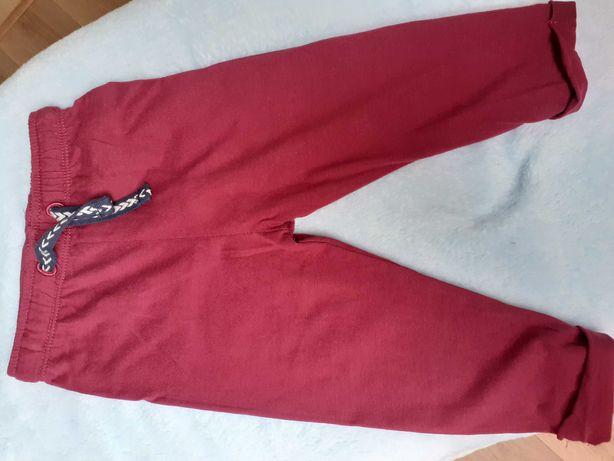 Cienkie chłopięce spodnie, rozmiar 74