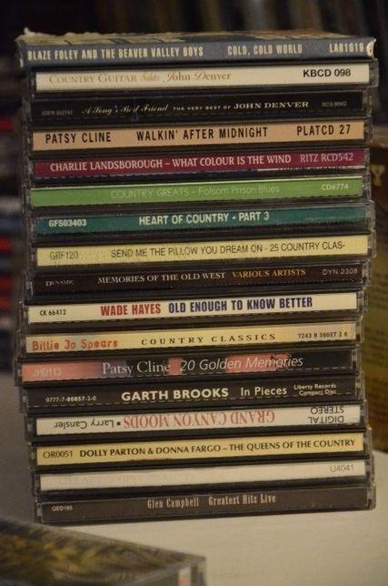 Lote de 17 CD Musica Country