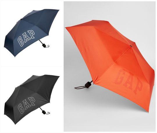 Стильный зонт GAP зонтик Оригинал США черный синий мужской женский