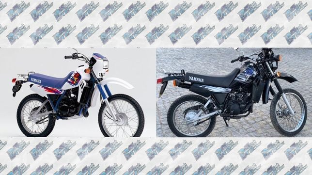 Autocolantes Yamaha DT 50 LC 98- Azul / Preto