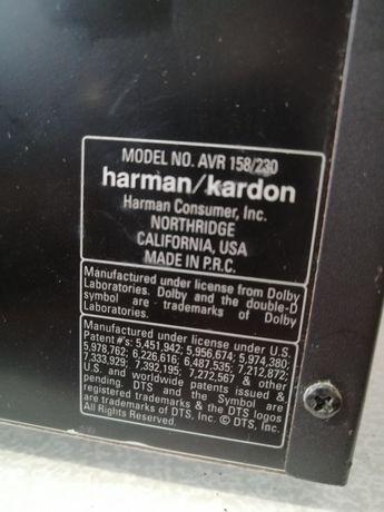 Harman kardon AVR 158/230