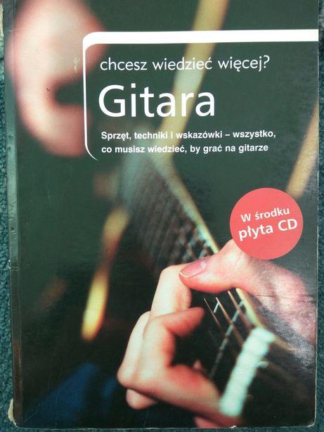 Gitara chcesz wiedzieć więcej David Harrison  nauka gry książka