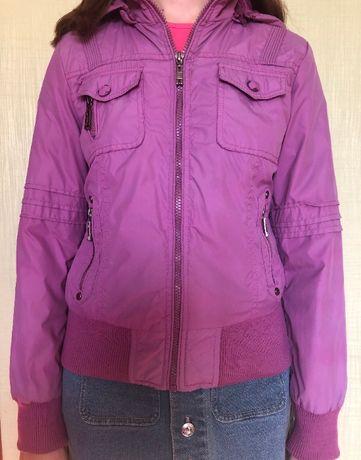 Демисезонная курточка, теплая ветровка,на девочку 8-13 лет, Польша