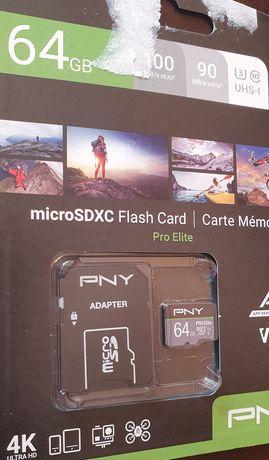 Karta PNY microSD uhs-I U1 100mb 90mb micro sd