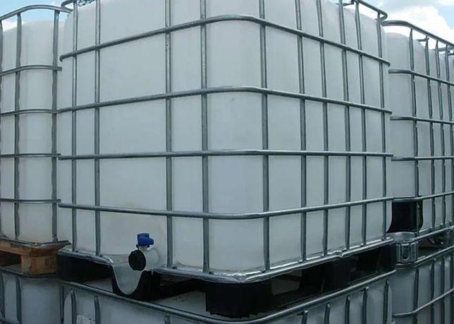 Pojemnik zbiorniki beczki 1000 l czyste bańki bańka pojemnik litrowe