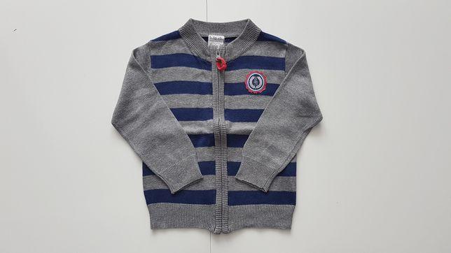 Sweter chłopięcy firmy 5.10.15 rozmiar 86 Stan: Bardzo dobry +++