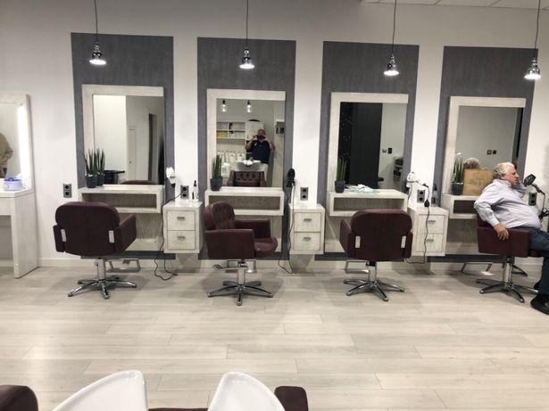 Mobiliário cabeleireiro por medida