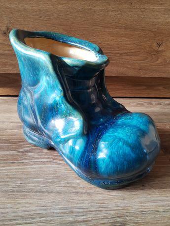 Duża ceramiczna donica but