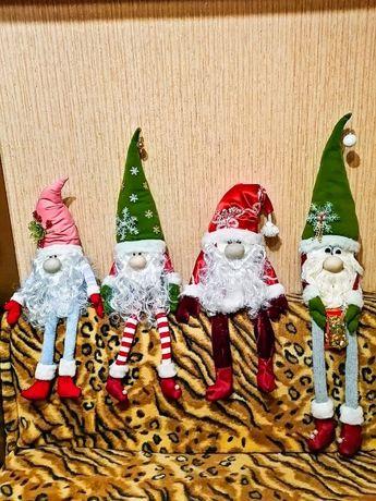 Гном,Эльф,рождественский,новогодний,текстильный, ручная работа,игрушк