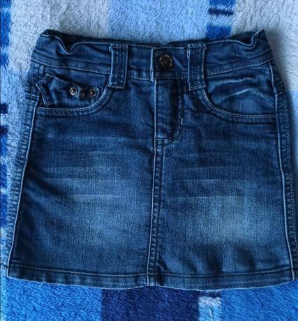 Джинсовая юбка 5-6 лет