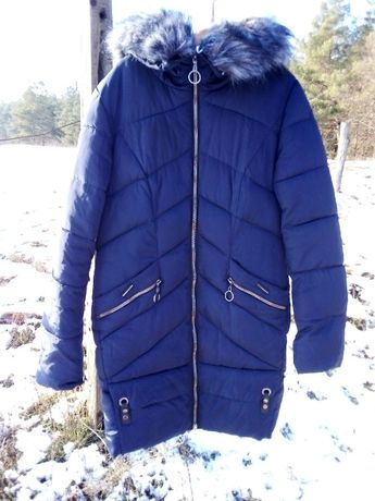 Пальто зимнее женское на синтепоне, размер 48-50