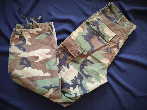 Spodnie wojskowe męskie