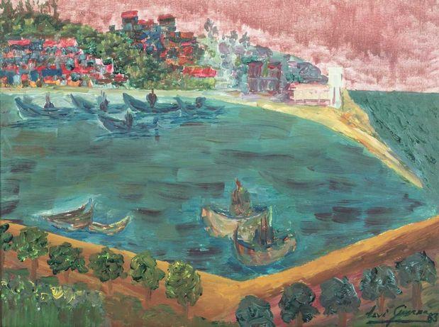 """Levi Guerra (n. 1930) """"Vista Sobre O Rio"""""""
