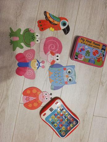 Tablet plus puzzle dla dziecka