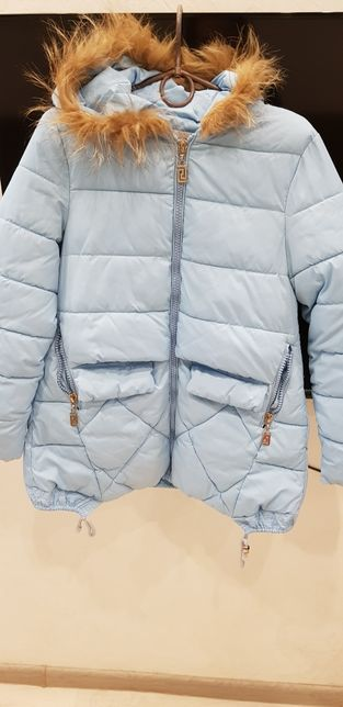 Пуховик, куртка на девочку, весна-осень рост 158-164
