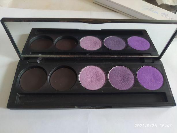 Inglot cienie paletka , 3 odcienie fioletu