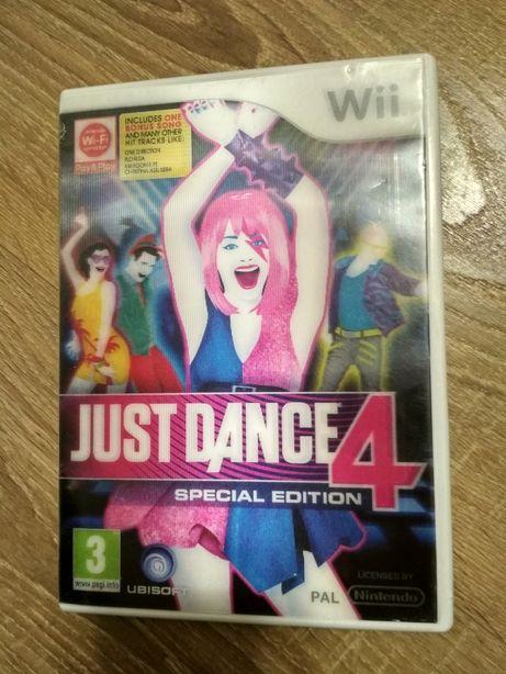 Диск для Nintendo Wii Just Dance 4 Special Edition, Просто танцуй