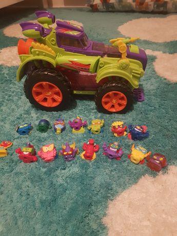 Super zings  pojazd monster roller