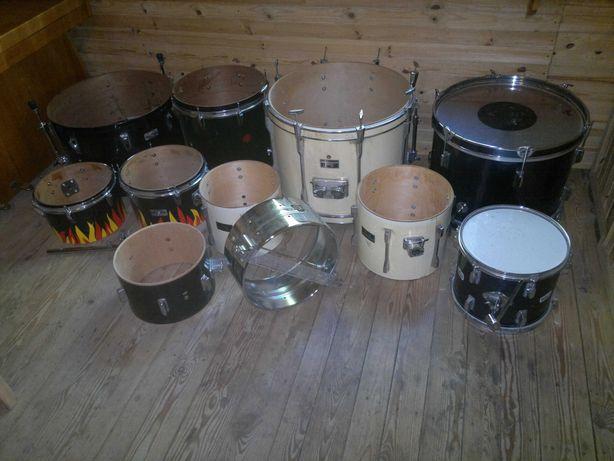 Perkusje, bębny, różne, Yamaha, Pearl, do renowacji / na części