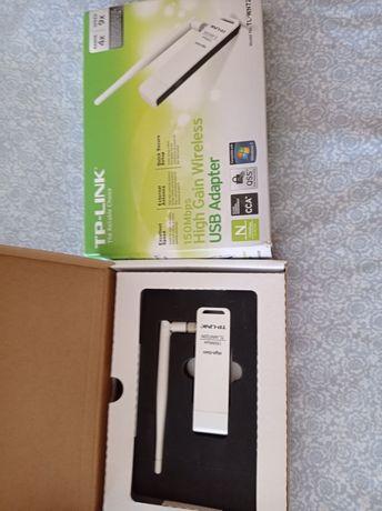 Vendo pen wireless tp-link como novo em caixa