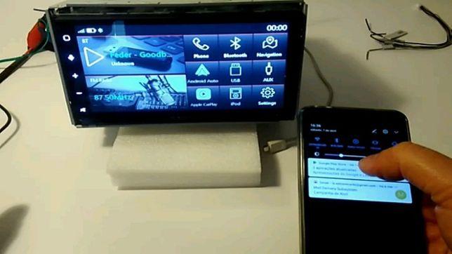 "Auto-rádio 2 DIN | Ecrã 6,8"" GPS, CarPlay™, Android Auto™ MACROM"