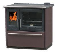 PLAMEN Thermo Glas kuchnia żeliwna na drewno z funkcją c.o.