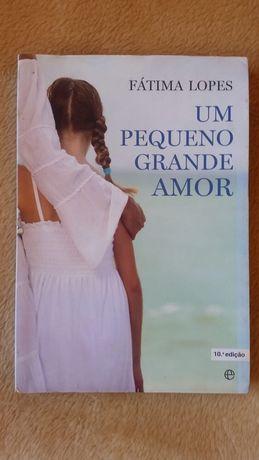 """Livro """"Um pequeno grande Amor"""""""
