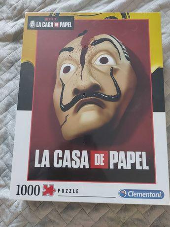 Puzzle nowe Dom z papieru 1000