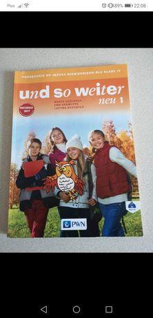 Książka do niemieckiego klasa 4