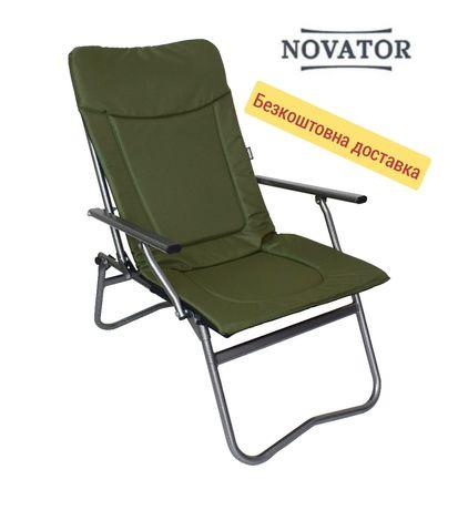 Кресло карповое для рыбалки и отдыха раскладное Vario Basic New