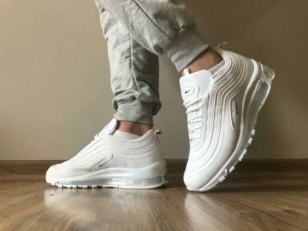 Nike Air Max 97 rozmiary 40,41,42,43,44. Białe obuwie męskie.