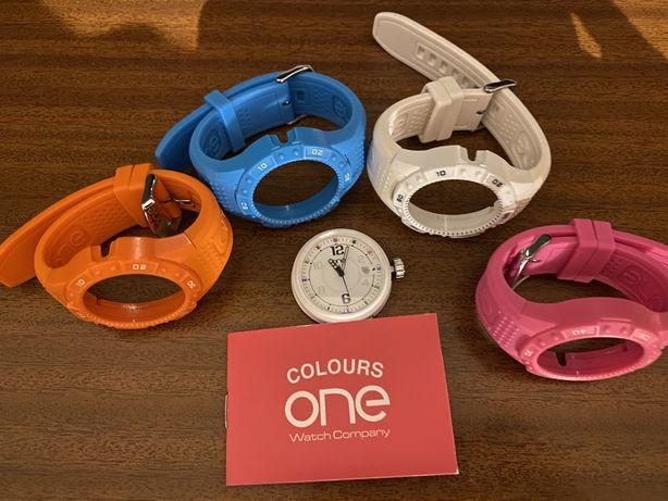 Relogio One com 4 braceletes