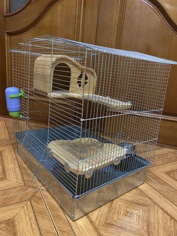 Клетка для грызунов (шиншиллы)