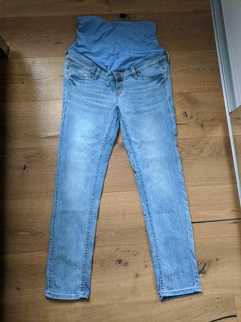 Jeansy ciążowe dżinsy ciążowe hm H&M 40/42 jak nowe