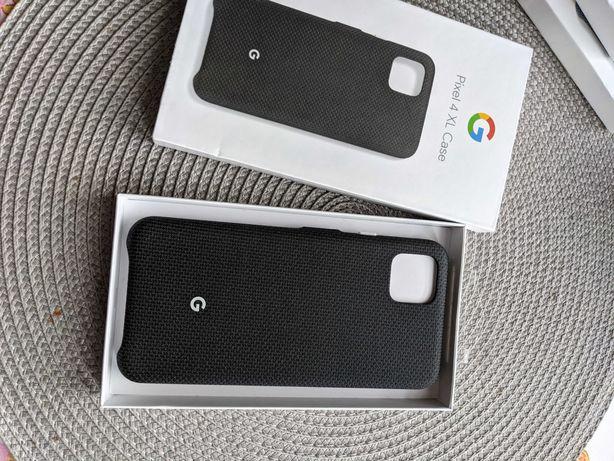 Pixel 4XL fabric case etui w kolorze czarnym