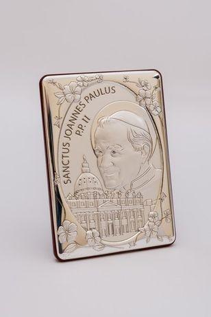 Obrazek Świętego Jana Pawła II, 14x10 cm