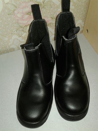 Кожаные мужские ботинки. Спецобувь.