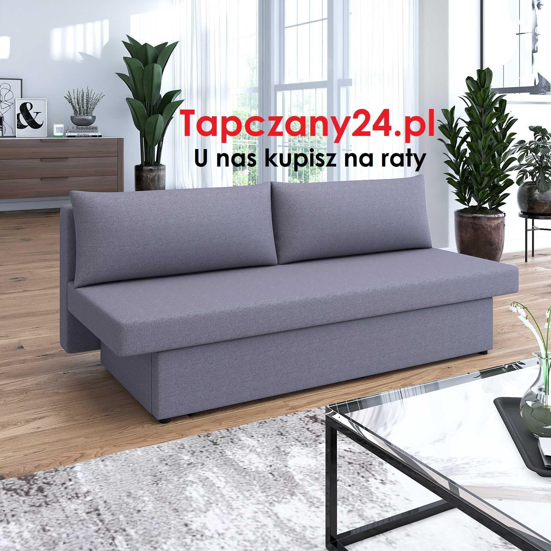 Sofa rozkładana Tapczan Kanapa Wersalka z funkcją spania+ pojemnik HIT