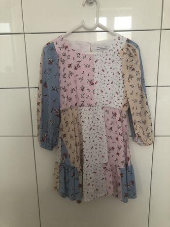 Sukienka reserved kwiaty r116