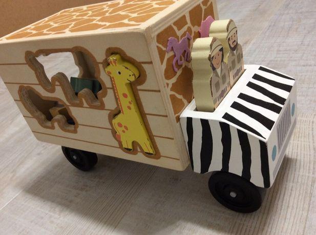 Развивающая игрушка Melissa & Doug. Машинка сортер
