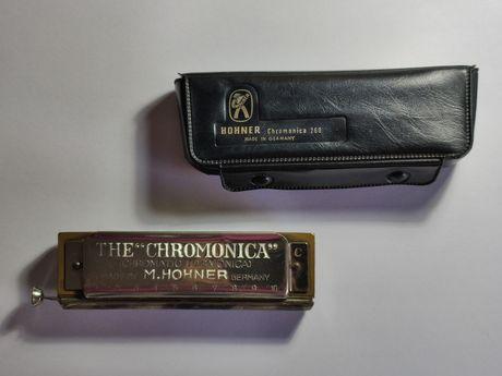 Harmonica hohner chromonica 260 made in Germany